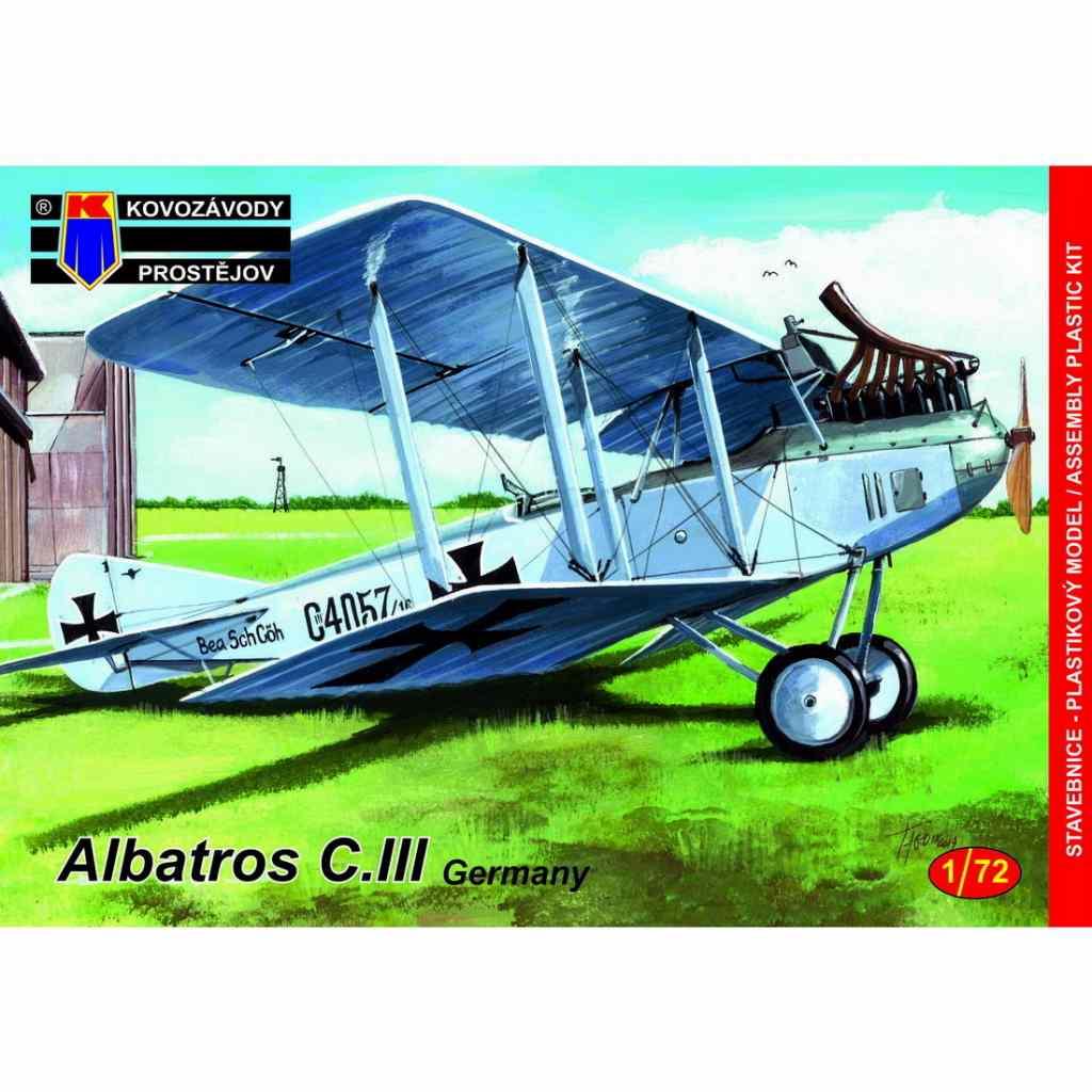 【新製品】KPM0149 アルバトロス C.III 「ドイツ軍使用」