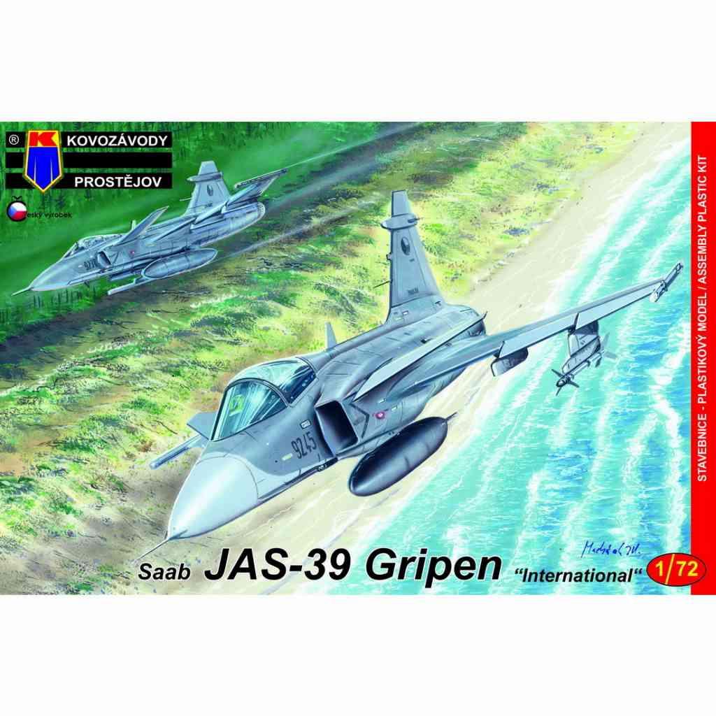 【新製品】KPM0161 JAS-39 グリペン 「インターナショナル」