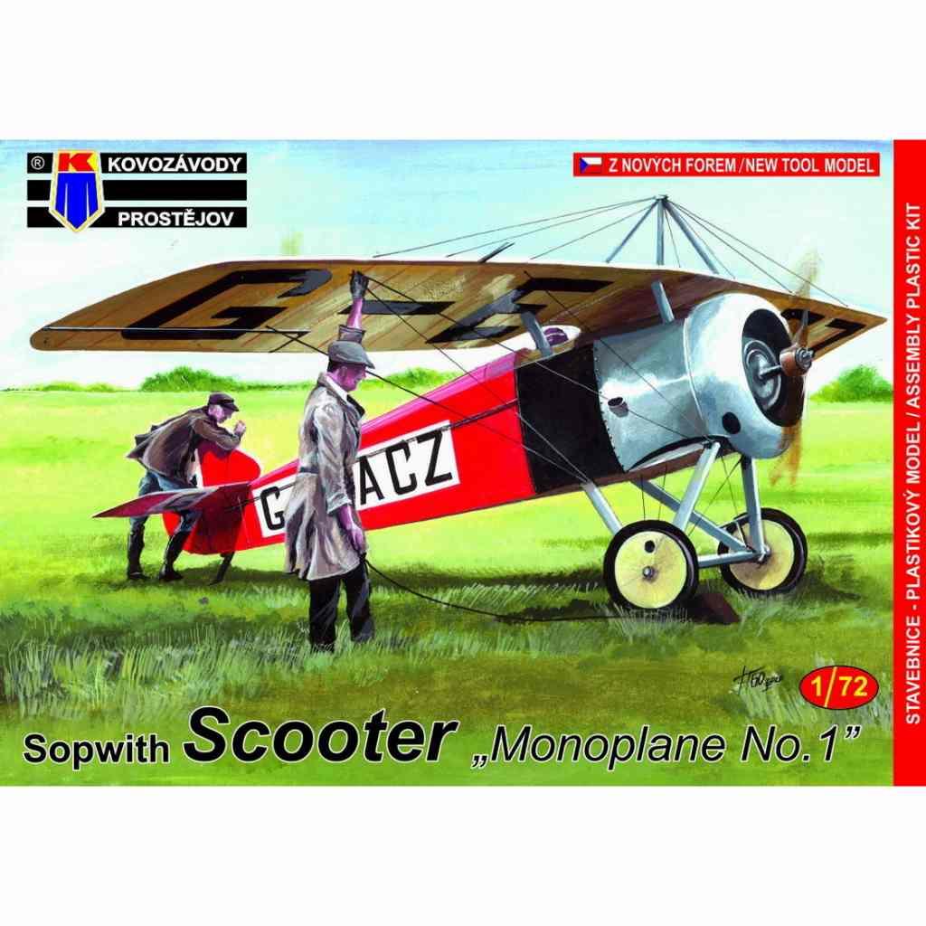 【新製品】KPM0165 ソッピース スクーター 「単葉機 No.1」