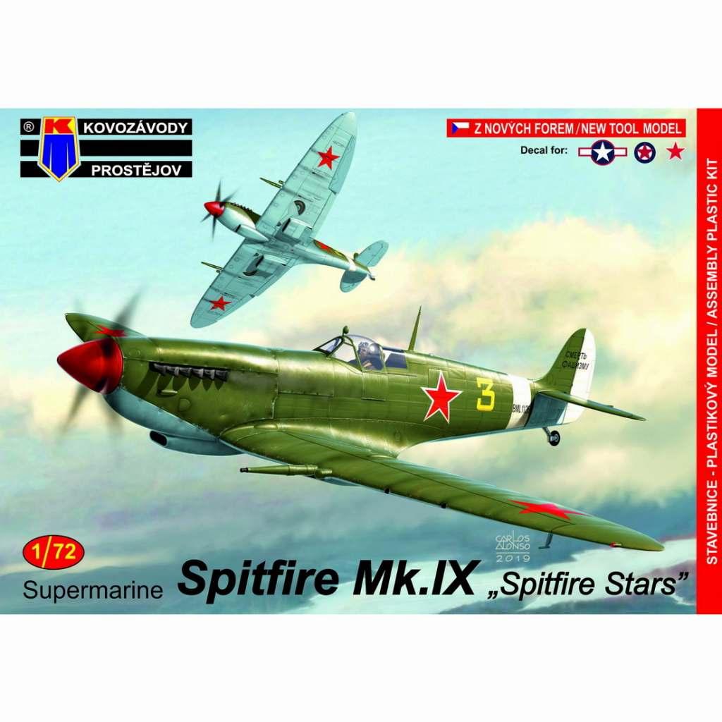 【新製品】KPM0167 スーパーマリン スピットファイア Mk.IX 「スピットファイアスターズ」