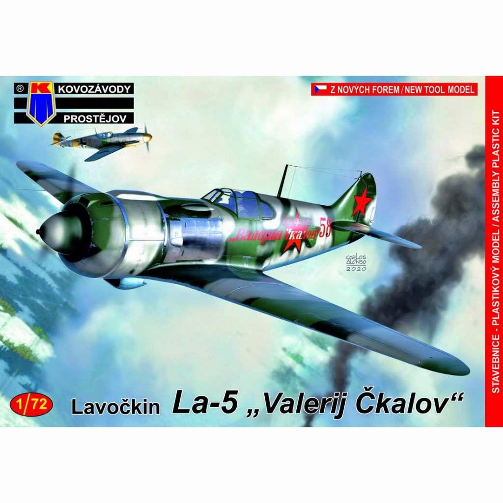 【新製品】KPM0172 ラボーチキン La-5 「ソ連邦英雄 ヴァレリー・チカロフ」