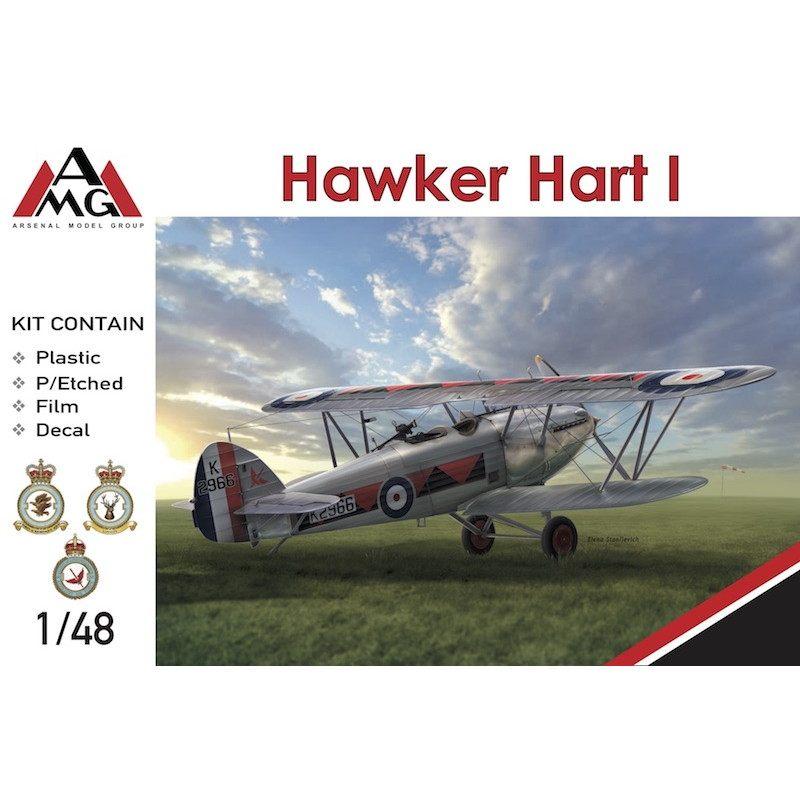 【新製品】48902 ホーカー ハートI 軽爆撃機