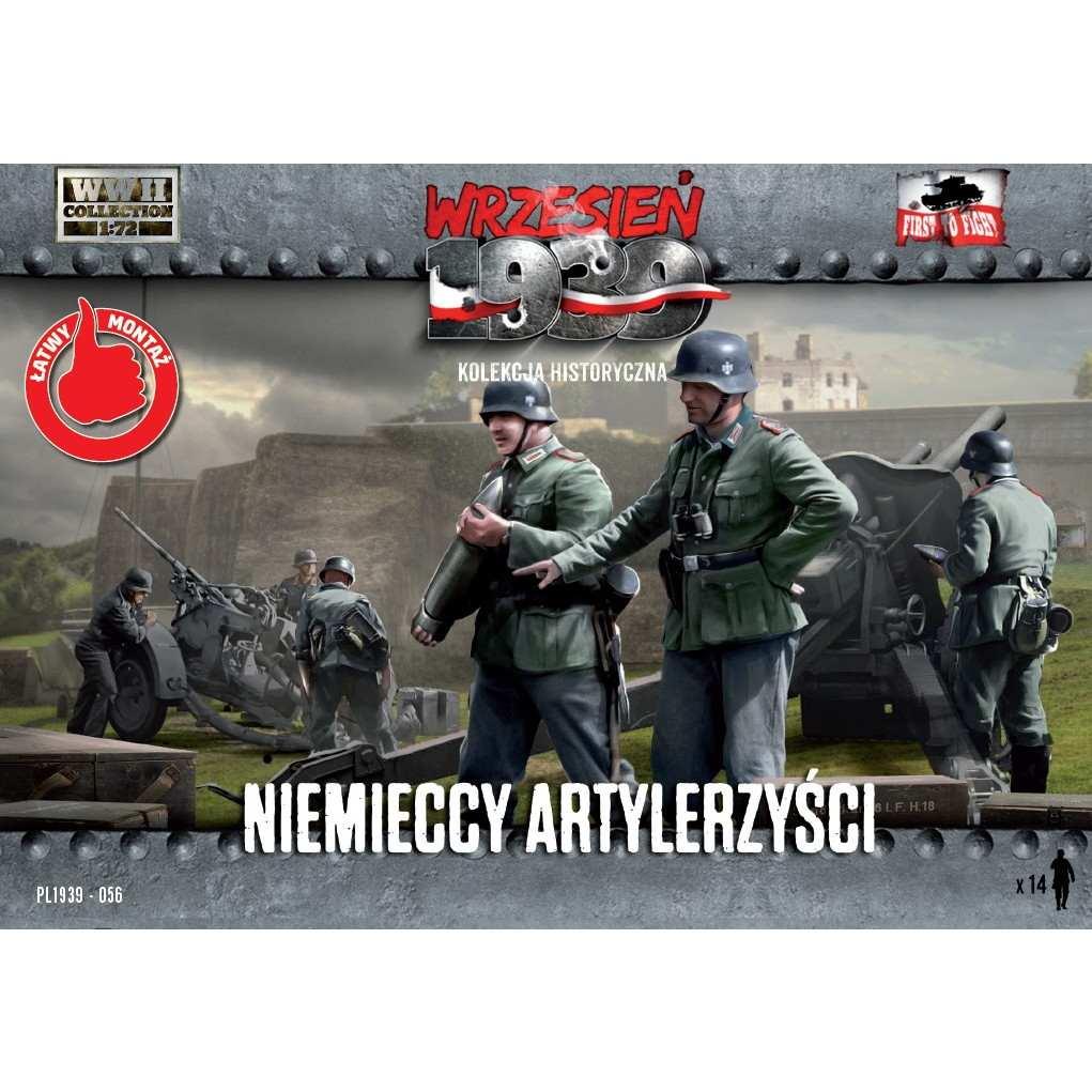 【新製品】72056)WWII ドイツ砲兵