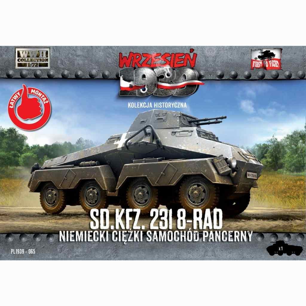 【新製品】72065 WWII 独 Sd.kfz.231 重偵察装甲車