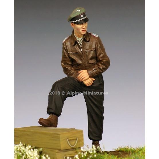 【新製品】35253 WWII 独 SS戦車部隊将校 44-45