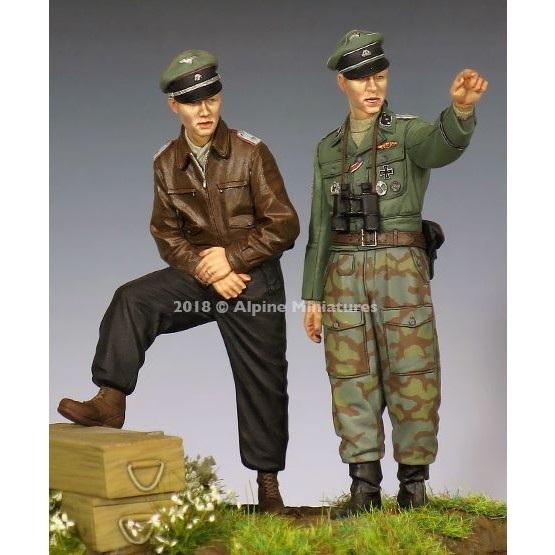 【新製品】35255 WWII 独 SS将校 44-45(2体セット)
