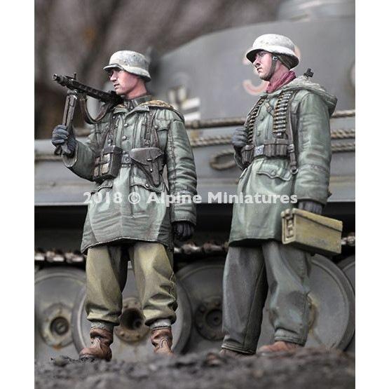 【新製品】35258 WWII 独 武装親衛隊 MG42機関銃チーム ハリコフ 2体セット