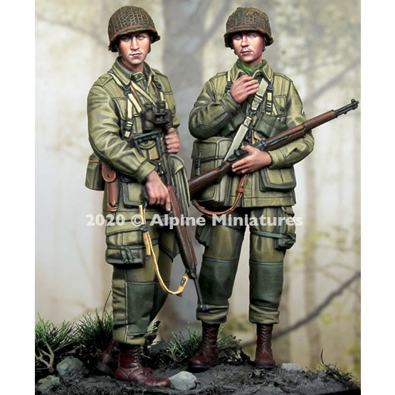 【新製品】35277 WWII 米 第101空挺師団 兵士セット#2(2体入)