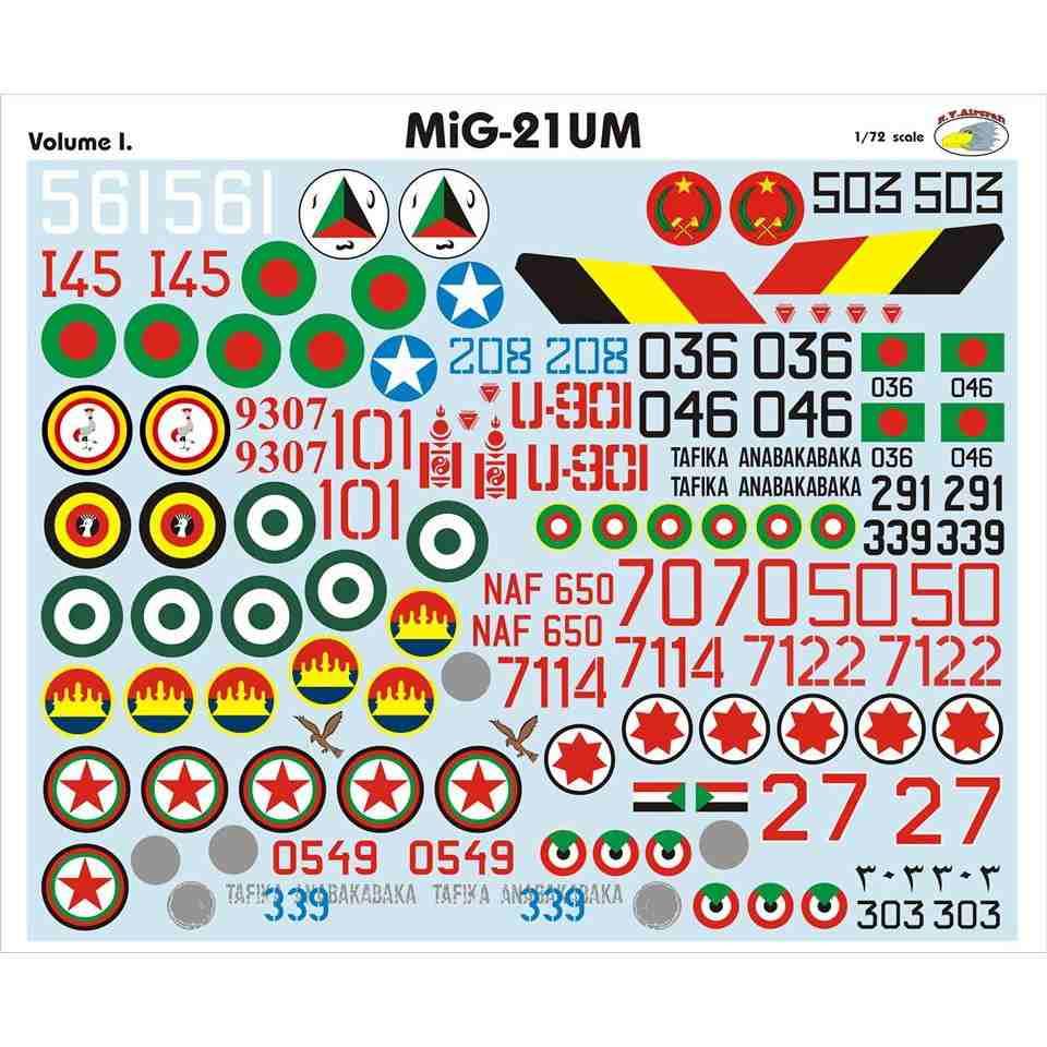【新製品】RVD72025 MiG-21UM モンゴルB Vol.I