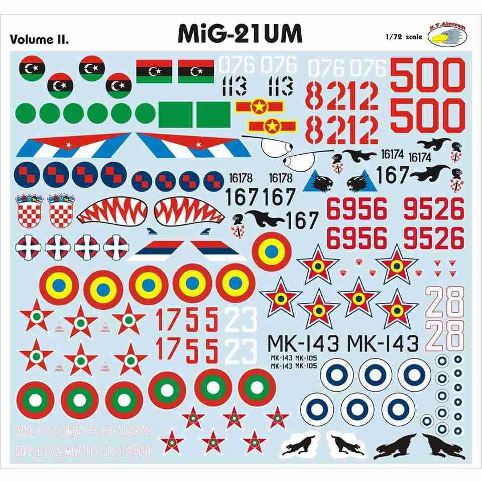 【新製品】RVD72026 MiG-21UM モンゴルB Vol.II
