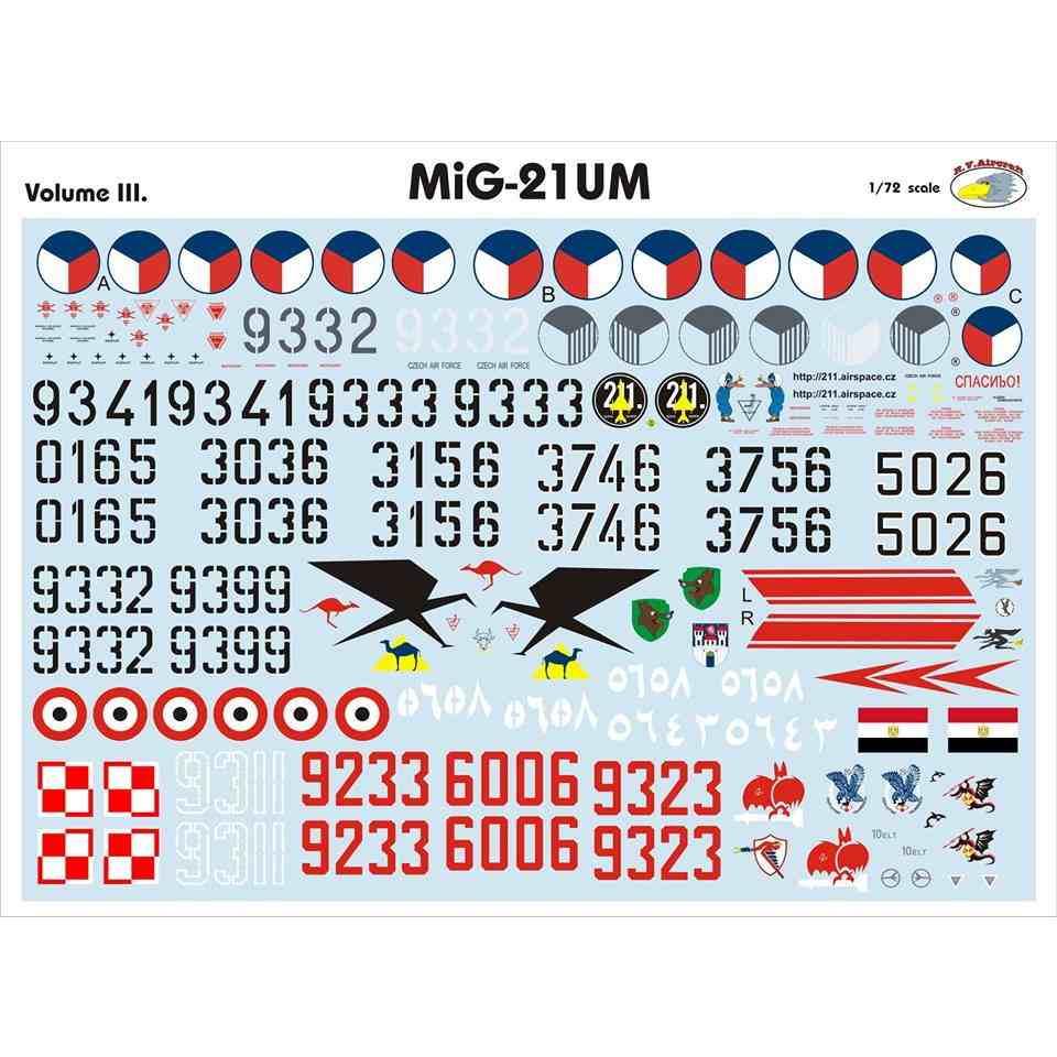【新製品】RVD72027 MiG-21UM モンゴルB Vol.III