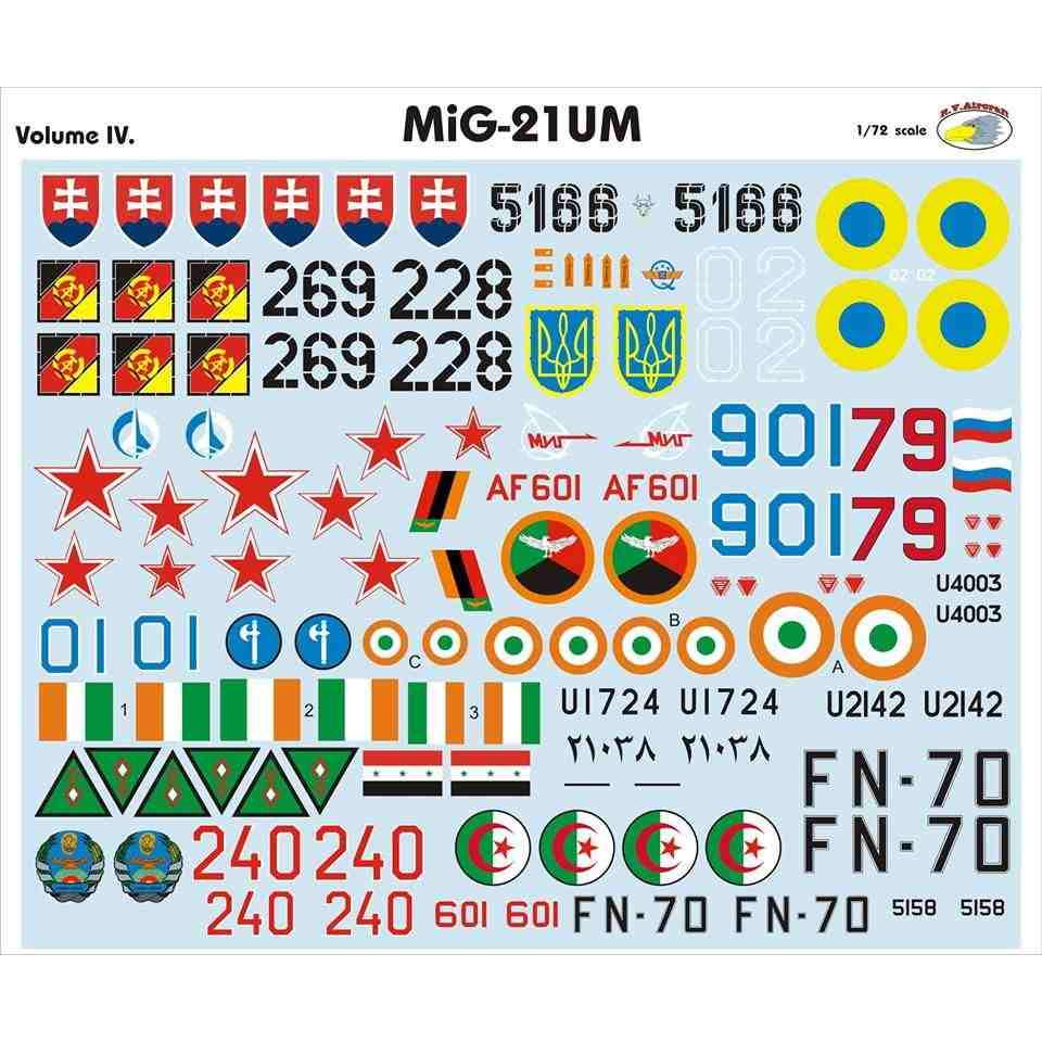 【新製品】RVD72028 MiG-21UM モンゴルB Vol.IV