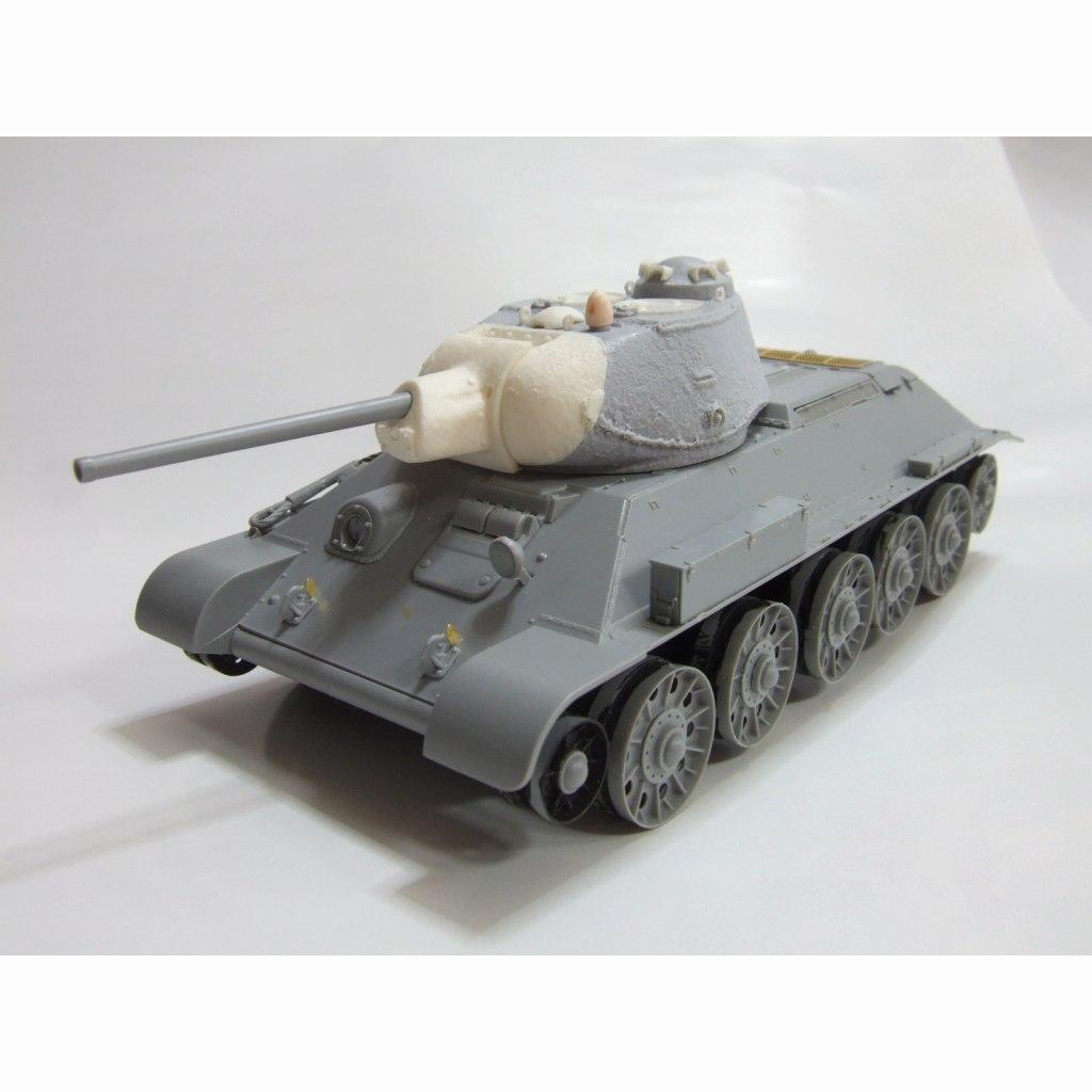 【新製品】ZM-3530 T-34S砲塔セット