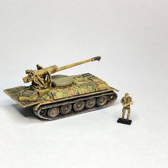 【新製品】シリア・アラブ軍 T-34/D-30 122mm自走榴弾砲