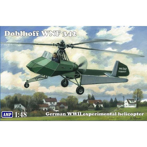 【新製品】AMP48008 ドブルホフ WNF342 試作ヘリコプター