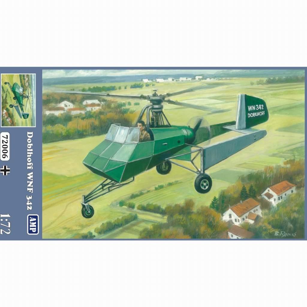 【新製品】AMP72006 ドブルホフ WNF342 試作ヘリコプター