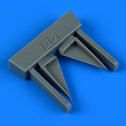 【新製品】33246 マクドネル・ダグラス F-4C/D ファントムII 垂直尾翼空気取入口(2個入り) (タミヤ用)