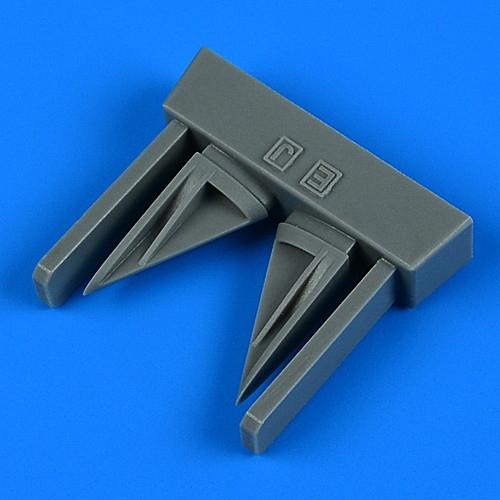 【新製品】33247 マクドネル・ダグラス F-4E/EJ/F/J/S ファントムII 垂直尾翼空気取入口(2個入り) (タミヤ用)