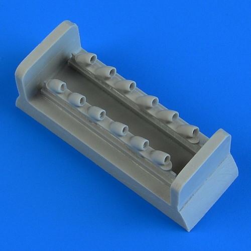 【新製品】48901 カーチス トマホーク Mk.II 排気管