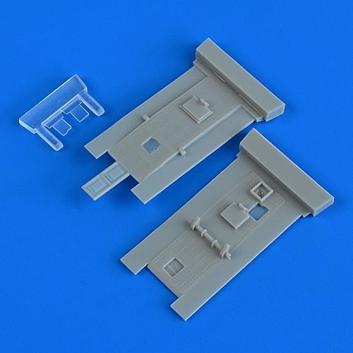 【新製品】48911 ブリストル ボーファイター コクピットドア (レベル用)