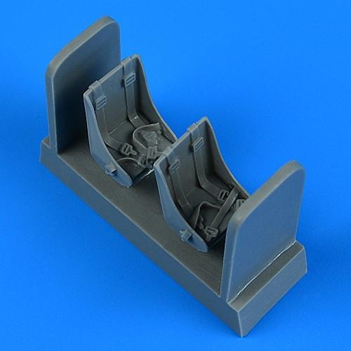 【新製品】48946 フォッカー G-I 座席 (2個入り、ベルトモールド付き)(ミクロミル用)