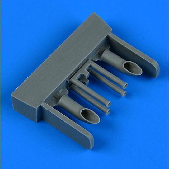 【新製品】48947 フォッカー G-I 排気管(ミクロミル用)
