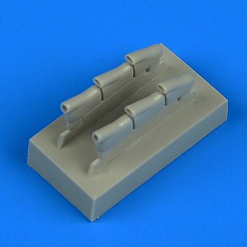 【新製品】72599 ホーカー ハリケーン Mk.I 排気管