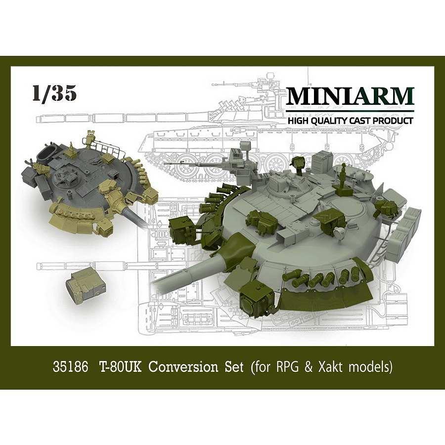 【新製品】B35186 現用 ロシア T-80UKディテールアップセット