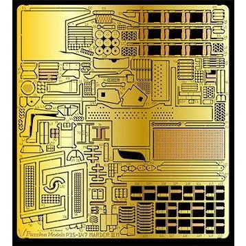 【新製品】P35-147 マーダーIIIM用エッチングパーツ(対応キット タミヤ:MM35364 35255)