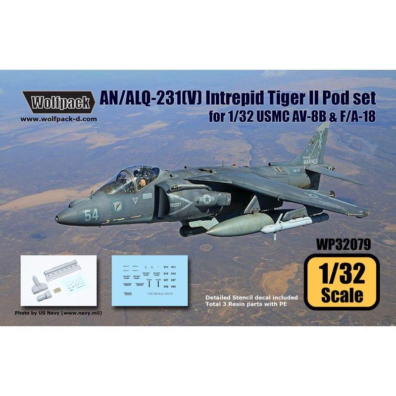 【新製品】WP32079 AN/ALQ-213(V) イントレピッド タイガーIIポッドセット