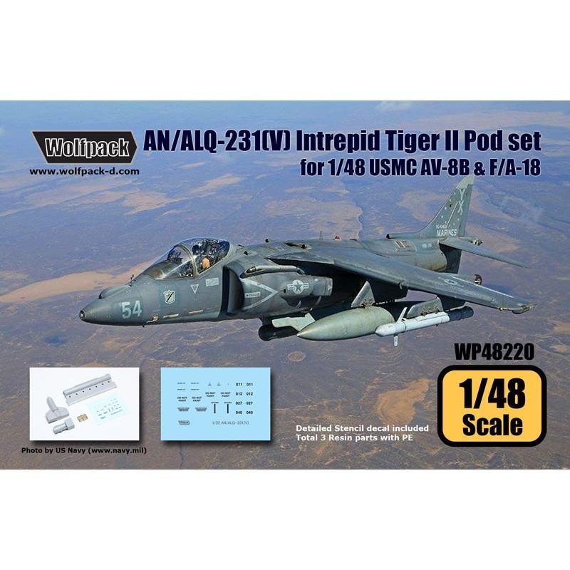 【新製品】WP48220 AN/ALQ-213(V) イントレピッド タイガーIIポッドセット