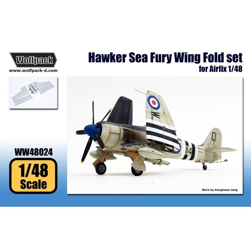 【新製品】WW48024 ホーカー シーフューリー 折畳み翼セット