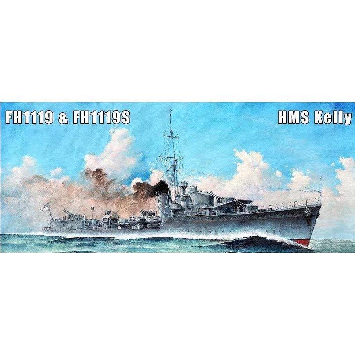【新製品】FH1119S 英海軍 K級駆逐艦 ケリー Kelly 1940 豪華版