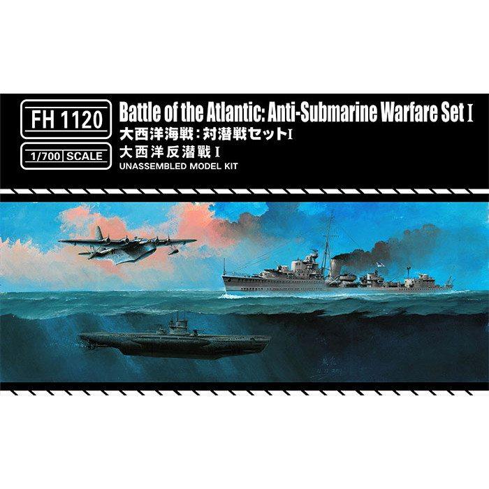 【新製品】FH1120 大西洋海戦 対潜戦セットI