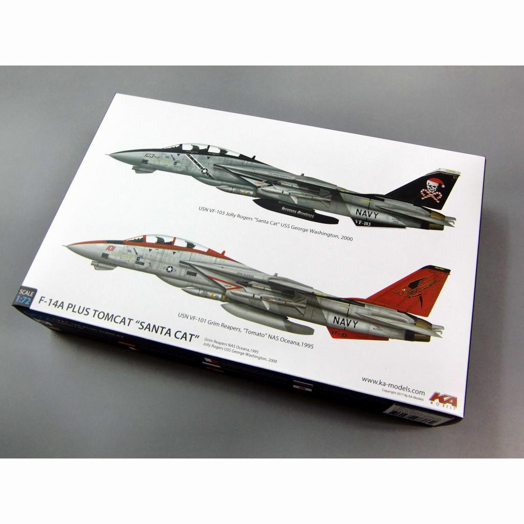 【新製品】KP72002A グラマン F-14A トムキャット サンタキャット