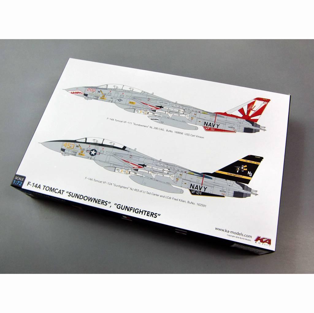 【新製品】KP72003A グラマン F-14A トムキャット サンダウナーズ