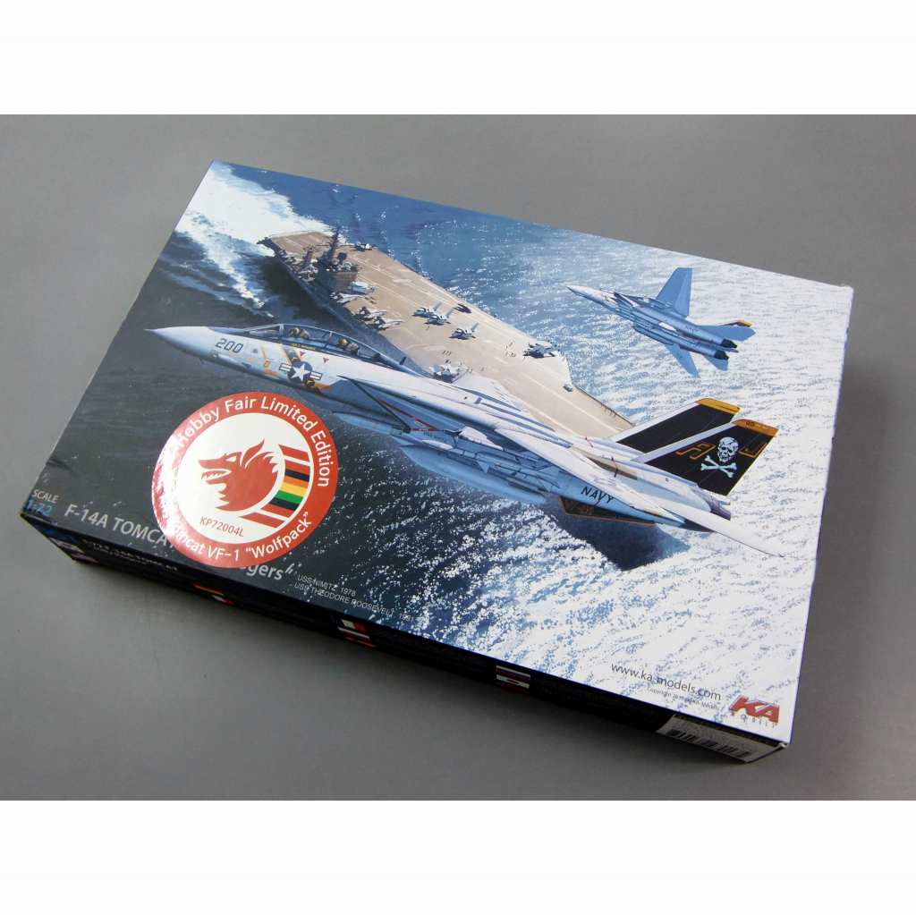 【新製品】KP72004L グラマン F-14A トムキャット ウルフパック 2018ホビーフェアリミテッドバージョン