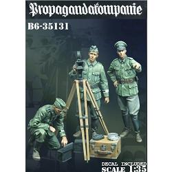 【新製品】35131 WWII 独 ドイツ陸軍宣伝中隊「撮影準備を開始せよ」