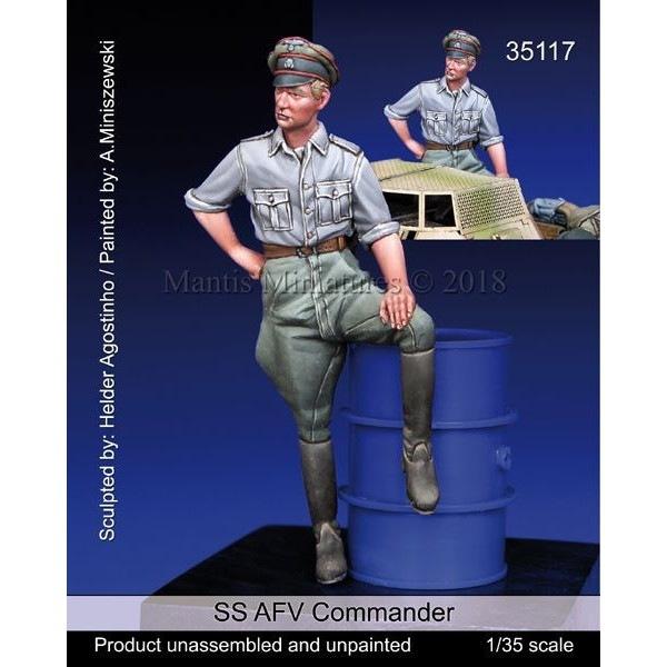 【新製品】35117 WWII 独 SS武装親衛隊 装甲車に跨るSS戦闘指揮官