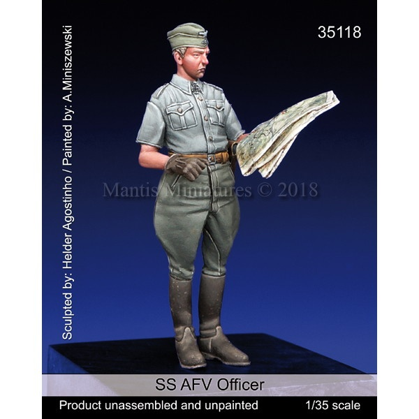 【新製品】35118 WWII 独 SS武装親衛隊 戦況を確認するSS士官