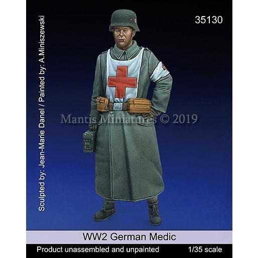 【新製品】35130 WWII 独 ドイツ陸軍衛生兵