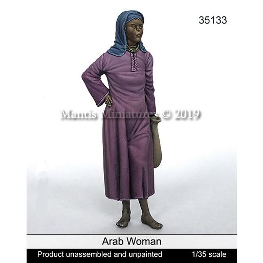 【新製品】35133)ヒジャブを被ったアラブ人女性
