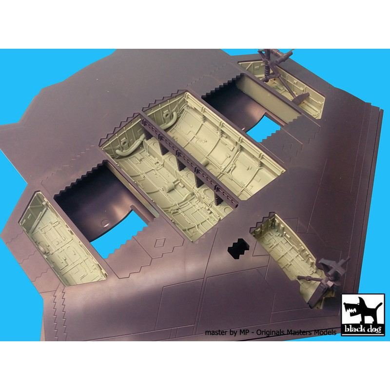 【新製品】A72021)B-2 スピリット 爆弾倉+脚収納庫