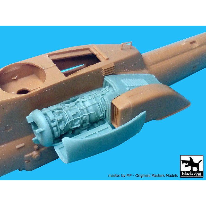 【新製品】A72023 ミル Mi-28 ハヴォック エンジン
