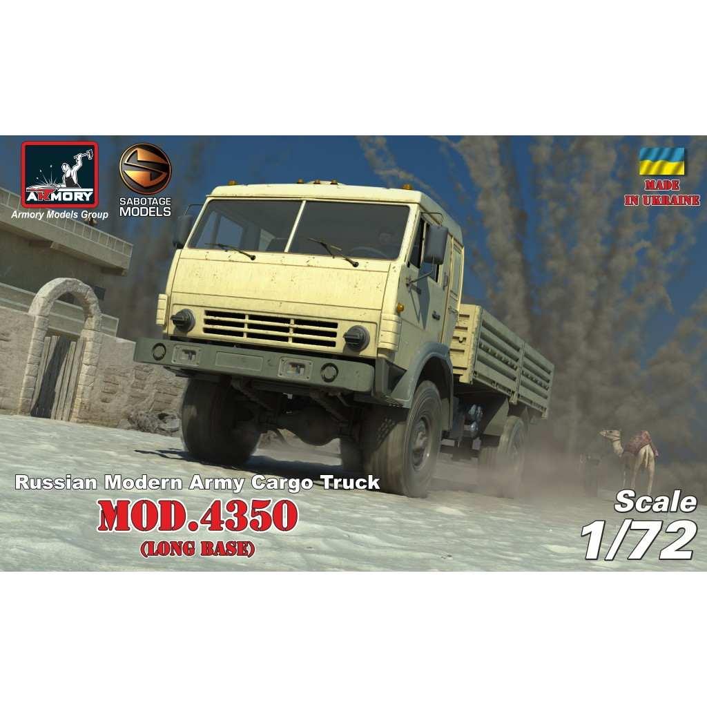 【新製品】72406 露 4x4カーゴトラック mod.4350 ロングベース