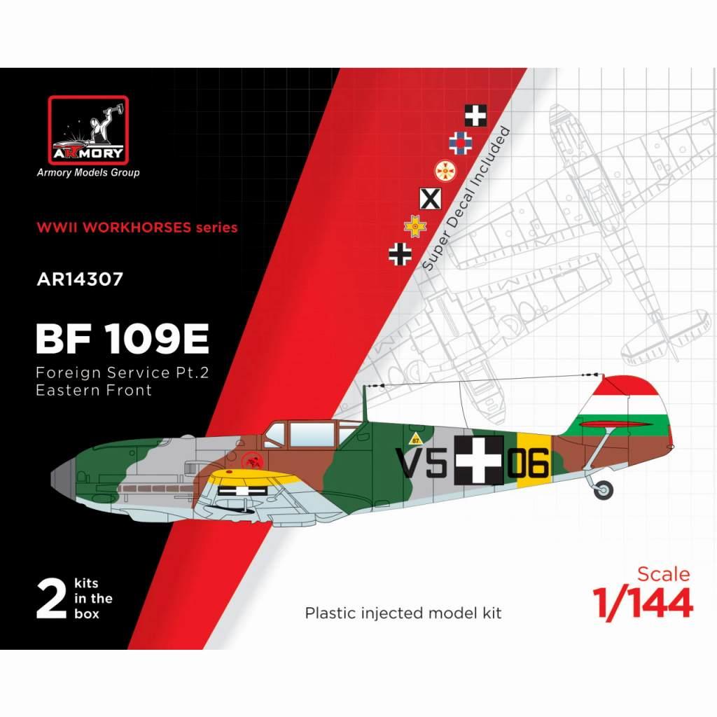 【新製品】14307 メッサーシュミット Bf109E「海外エースパイロット」 パート2