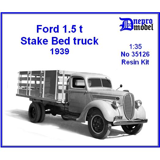 【新製品】35126 アメリカ フォード 1.5t ステーキベッドトラック 1939年