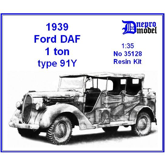 【新製品】35128 アメリカ フォード DAF 1t TYPE 91Y 1939年