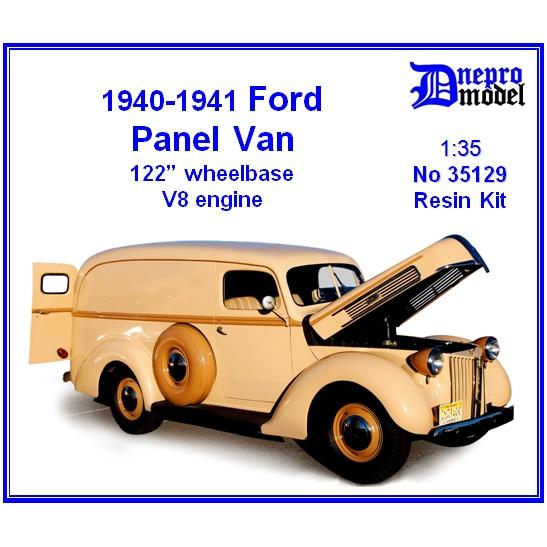 【新製品】35129 アメリカ フォード パネルバン 122インチホイールベース V8エンジン 1940-1941年