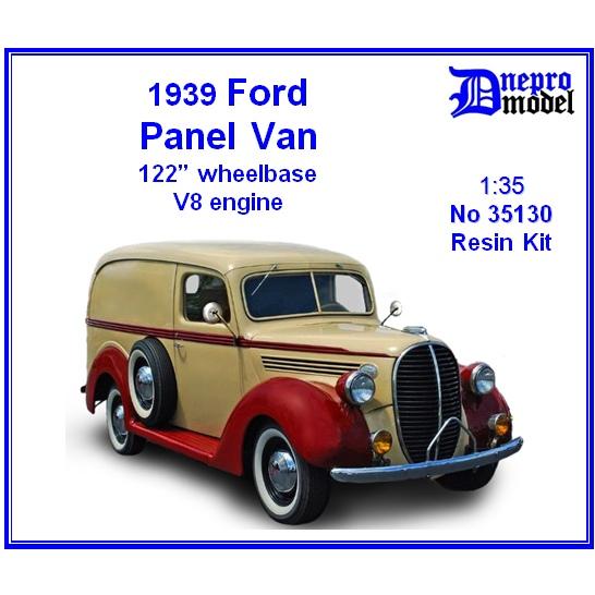 【新製品】35130 アメリカ フォード パネルバン 122インチホイールベース V8エンジン 1939年